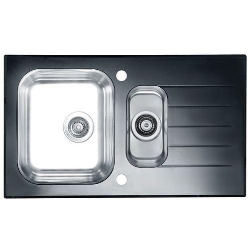 Zlewozmywak ALVEUS Glassix 20 POP-UP 3 1/2 1100015 Satyna - czarny (3838997437816)