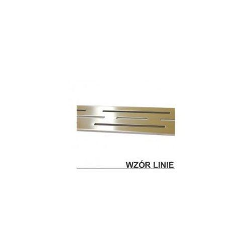 Odwodnienie liniowe 80 ruszt ozdobny - linie XMD032