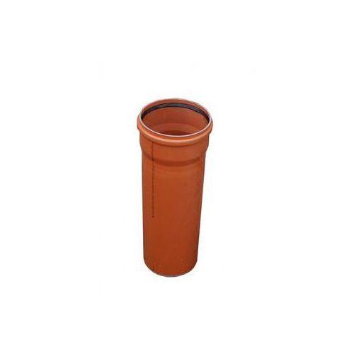 Drewplast Rura kanalizacyjna zewnętrzna kz 200 0,5m