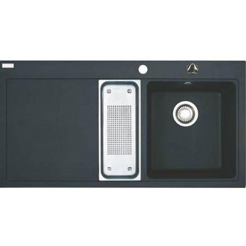 Franke Zlew mtg 651-100 grafitowy komora z prawej 114.0063.945 + akcesoria - kolory (promocja - 2 otwóry wytniemy gratis-pytaj) - odbiór osobisty 0zł