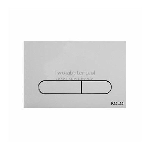 Koło Slim2 przycisk spłukujący chrom 94183-002
