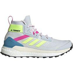 adidas TERREX Free Hiker Primeblue Hiking Shoes Women, szary/kolorowy UK 8 | EU 42 2021 Trapery turystyczne