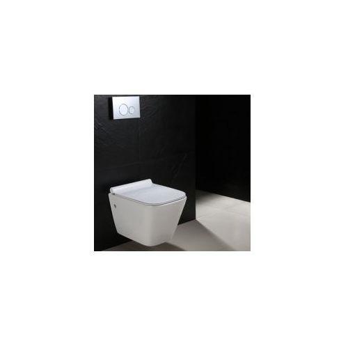 RYAN SLIM Miska WC wisząca Rimless + deska wolnoopadająca, MISKA_REA_RYAN_RIMLESS_SLIM