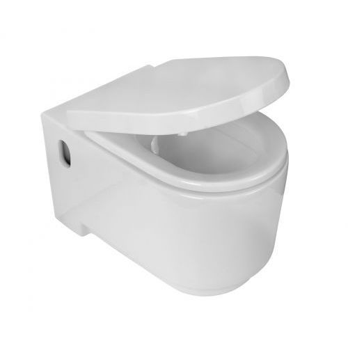 Zestaw Deante Prima CDP 6WPW Miska WC ustępowa wisząca z deską wolnoopadającą CDU 6DOZ, CDP 6WPW CDU 6DOZ