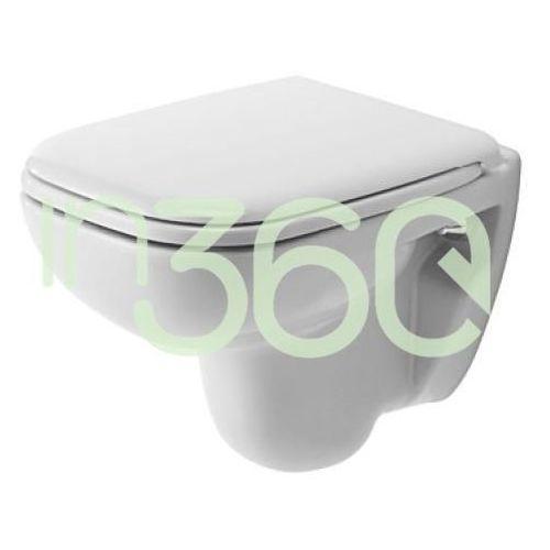 Duravit D-Code Miska WC wisząca 35x48 Compact biała 22110900002