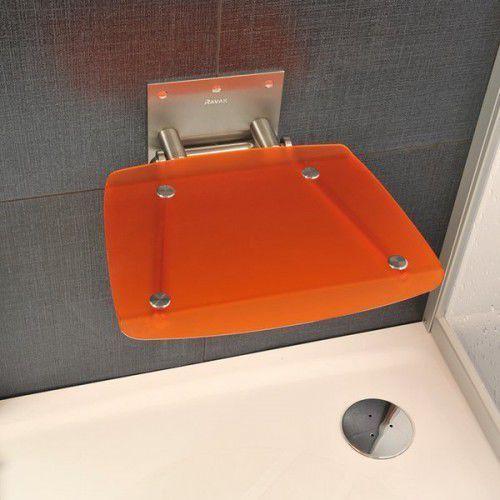 siedzisko prysznicowe ovo b orange (pomarańczowy) b8f0000017 marki Ravak