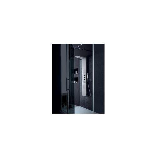 7049 Panel prysznicowy z aluminium, srebrny, 7049_srebrny