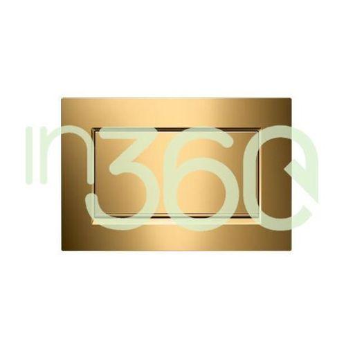 Geberit Sigma30 przycisk uruchamiający1m, przedni, złocony 115.893.45.1