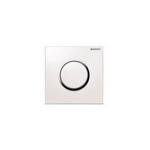 Geberit HyTouch przycisk pneumatyczny zawór spłukujący do pisuaru, ręczny, Sigma10, biały-chrom bł.-biały 116.015.KJ.1