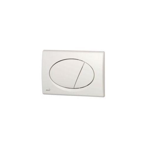 Alcaplast Przycisk spłuczki podtynkowej, biały m70