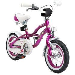 """Bikestar Rower dla dzieci 12"""" bike star germany cruiser jagodowy (4260184711932)"""