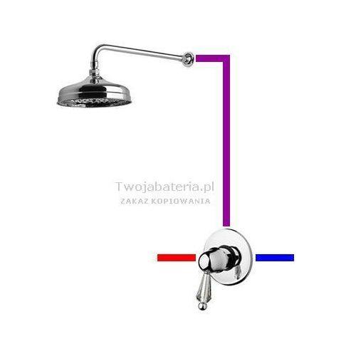 harmony kompletny zestaw prysznicowy swarovski przezroczysty swhaup1 marki Giulini giovanni