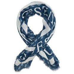 Chusta GUESS - Monique Scarves AW8606 POL03 BLU, kolor niebieski
