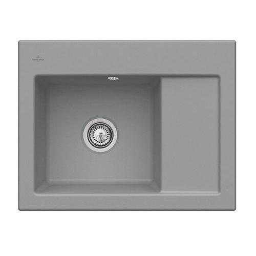 Zlew ceramiczny subway 45 compact - sl stone \ lewa \ manualny marki Villeroy & boch