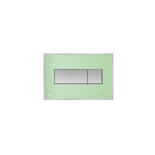 Przycisk spłuczki podtynkowej, zielony M1372