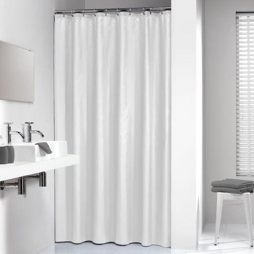 Sealskin Granada biała zasłona prysznicowa PCV 180x200cm 217001310 (8711131212317)
