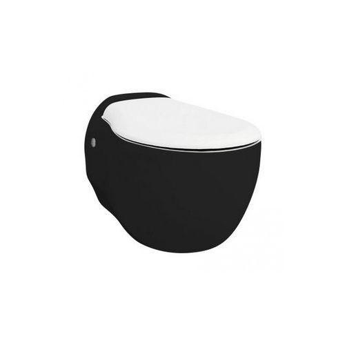 Artceram blend miska wisząca z deską wolnoopadającą czarno-biały blv0010150+bla00601 wyprzedaż