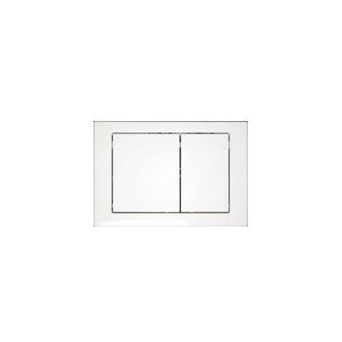 CERSANIT przycisk Link biały - prostokąty K97-086, K97-086