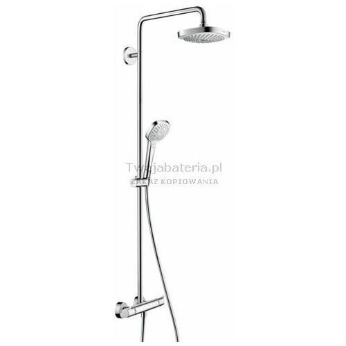 Hansgrohe croma select e komplet prysznicowy 180 2jet 27256400 27256400