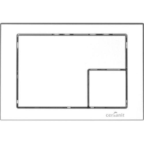 przycisk link chrom kwadrat duży/mały marki Cersanit