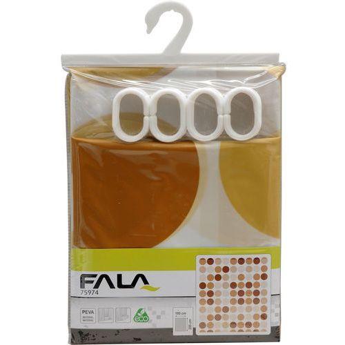 Fala Zasłonka prysznicowa 180x200cm / 75974 / - zyskaj rabat 30 zł (5906083759741)