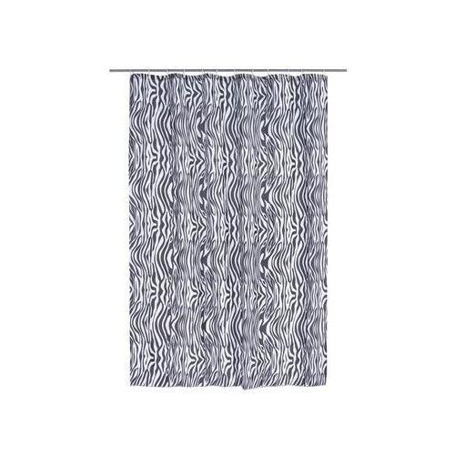 Zasłonka prysznicowa ZEBRA 180 x 200 cm DUSCHY