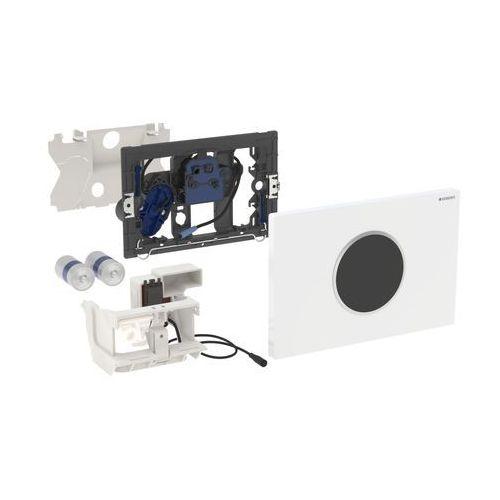 elektroniczny zestaw uruchamiający wc, ir, zasilanie bateryjne, sigma10, 115.908.kh.1 marki Geberit