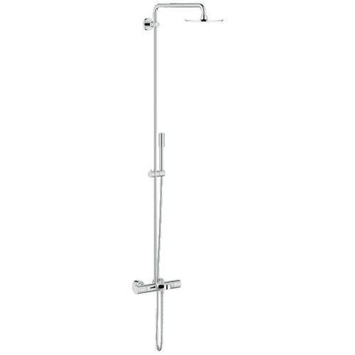 Grohe system wannowo-prysznicowy z termostatem do montażu ściennego rainshower® system 210 27641000