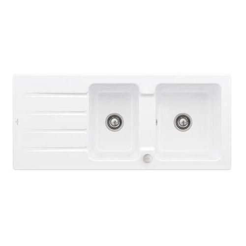 Villeroy & Boch Architectura 80 Stone White zlew ceramiczny - RW Stone White (biały matowy) \ Automatyczny