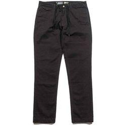 Spodnie - grizzly refuge chinos black (blk), Grizzly