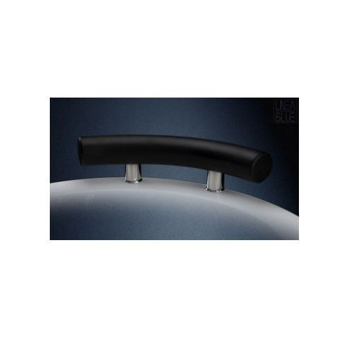 Lineablue Zagłówek wannowy owalny - kolor ciemny grafit