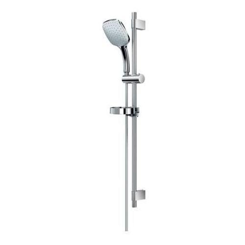 Ideal standard ideal rain cube zestaw natryskowy ze słuchawką trzyfunkcyjną na drążku xl 90 cm chrom b0017aa