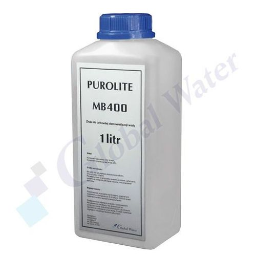 Global water Złoże do demineralizacjii wody purolite mb400