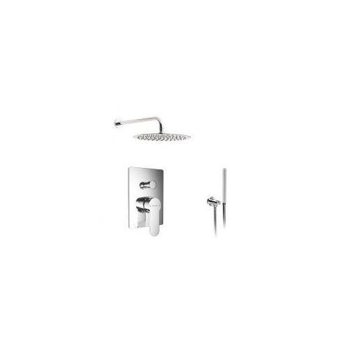Podtynkowy zestaw prysznicowy z baterią Excellent Oxalia AREX.9045CR, chrom ZEST227, ZEST227