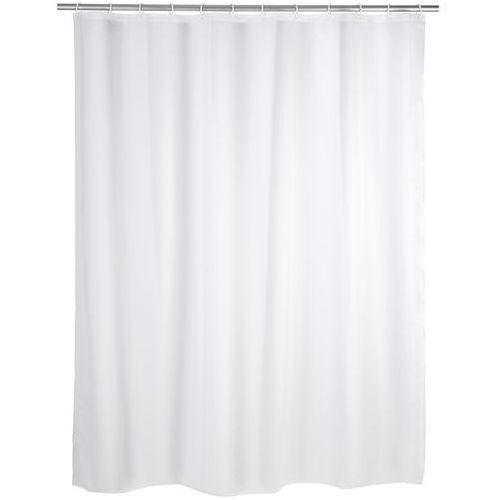 Zasłona prysznicowa, PEVA, kolor biały, 180x200 cm, WENKO