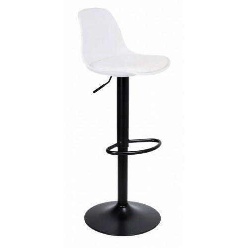 Krzeslaihokery Hoker palmo black biały