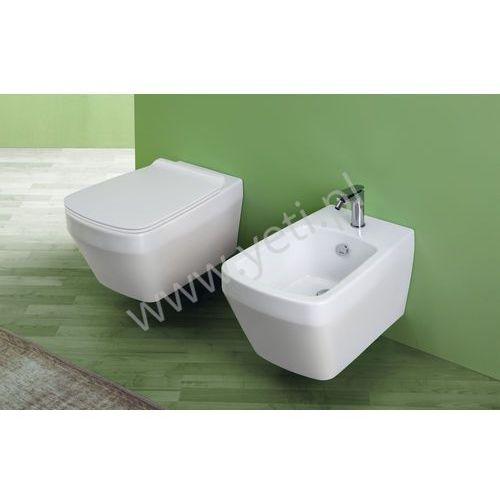baden baden miska podwieszana rimless biała z deską bb18vi 18/f85 marki Simas