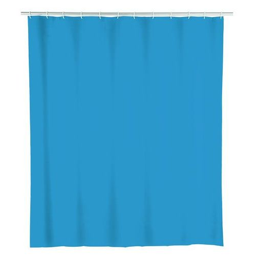 Zasłona prysznicowa, PEVA, kolor niebieski, 180x200 cm, WENKO (4008838157831)