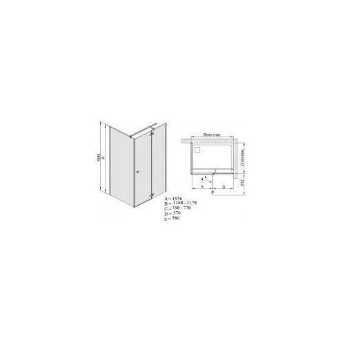 Sanplast Free line 80 x 120 (600-260-0660-42-211)