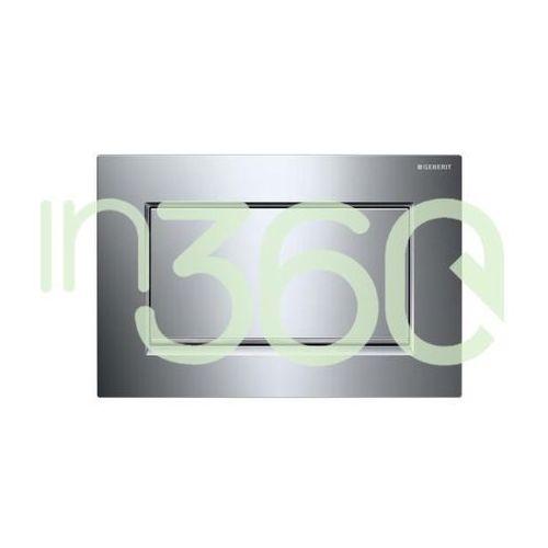 sigma30 przycisk uruchamiający1m, przedni, chrom bł-chrom szczot.-chrom bł. 115.893.ky.1 marki Geberit