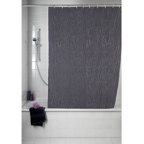 Wenko Zasłona prysznicowa deluxe, tekstylna, 180x200 cm,