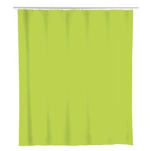 Wenko Zasłona prysznicowa, peva, kolor zielony, 180x200 cm,