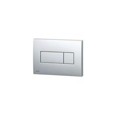 przycisk spłukujący m372 chrom matowy kwadrat marki Delfin