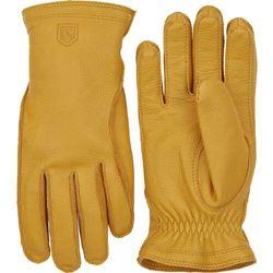 Hestra frode gloves, żółty 10 2021 rękawiczki skórzane