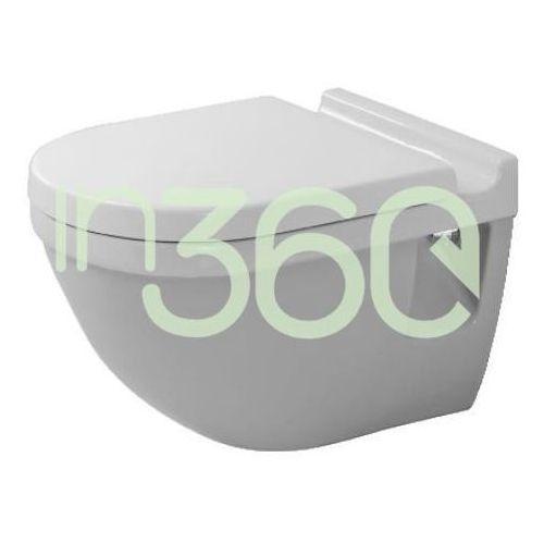 Duravit Starck 3 Miska WC wisząca biała 2201090000