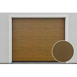 Hd01/glk brama garażowa segmentowa złoty dąb marki Doorhan