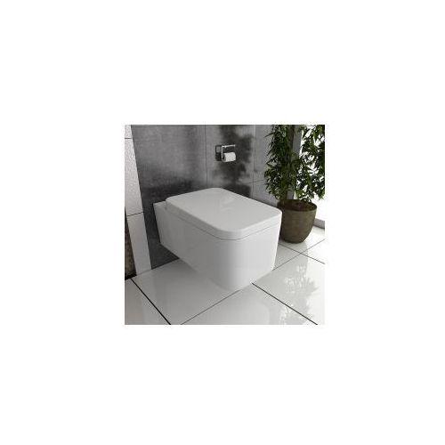 CUBIC Miska WC wisząca + deska duroplast wolnoopadająca, miska_cubic_duroplast_tz-a