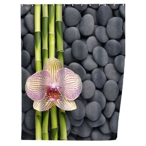 Zasłona prysznicowa SPA, tekstylna, 180x200 cm, WENKO