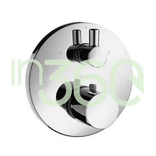 Hansgrohe Ecostat bateria termostatyczna Ecostat S, podtynkowa, z zaworem odcinająco-przełączającym chrom 15721000