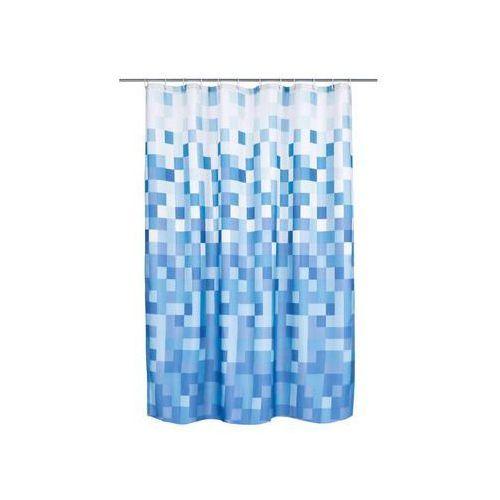 Zasłonka tekstylna PIXLAR BLUE 180 x 200 cm DUSCHY